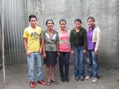 David, Moeder, Brenda, Silvia, Nora-1